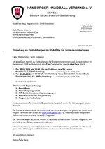 BSA Elbe - Fortbildung September 2018