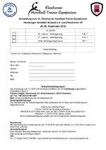 EHT-Symposium 2018 Anmeldung