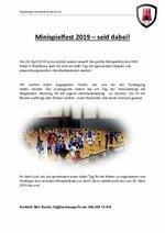Bewerbung Ausrichtung Minispielfest 2019