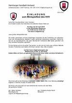 Einladung HHV-Minispielfest 2019