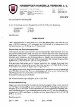 Urteil 04/2019 - EInspruch SC Condor