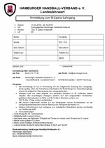 B-Lizenz-Ausbildung 2019 Anmeldung
