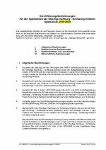 Durchführungsbestimmungen OL HH/SH 2019/20