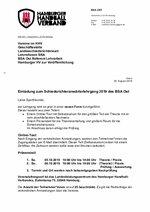 BSA OST - Anwärterlehrgang 2019