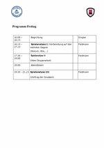 Zeitraster EHT-Symposium