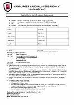 Anmeldeformular B-Lizenz 2020