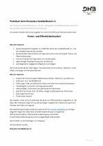 Ausschreibung DHB Praktikum Presse