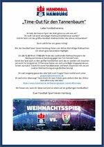 Gruppenangebote Weihnachtsspiel HSVH 2019