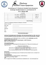 Anmeldeformular EHT-Symposium 2020