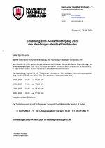2020 - Einladung Anwärterlehrgang
