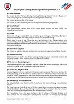Satzung Oberliga HH/SH e. V. vom 12.08.2018