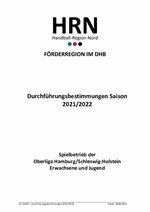 Durchführungsbestimmungen Saison 2021/22