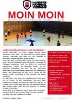Moin-Moin HHV-Newsletter 1/2021 (September 2021)