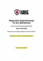 Regionales Hygienekonzept Saison 2021/2022 - Version 2 vom 20.09.2021