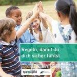 Broschüre für Kinder: Regeln, damit du dich sicher fühlst