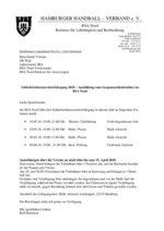 Ablaufplan für den Gespannschirilehrgang 2010 in Alstertal