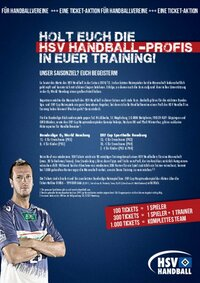 HSV Handball Vereinsangebot
