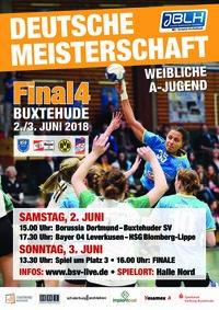 Final4 wA-Jugend in Buxtehude - Plakat