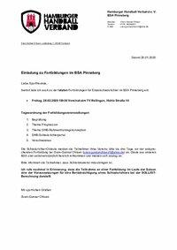 BSA Pinneberg - Fortbildungen 2020