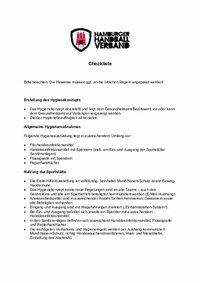 Anlage 5: Checkliste