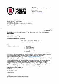 Einladung Fortbildung BSA Ost am 22.10.2021