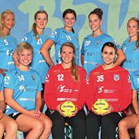 Die Handballfrauen des Buxtehuder SV in der Saison 2014/15