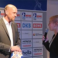 Holger Stanislawski und Anett Sattler