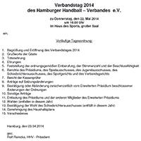 Verbandstag 2014