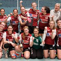 Die Oberligafrauen des AMTV Hamburg